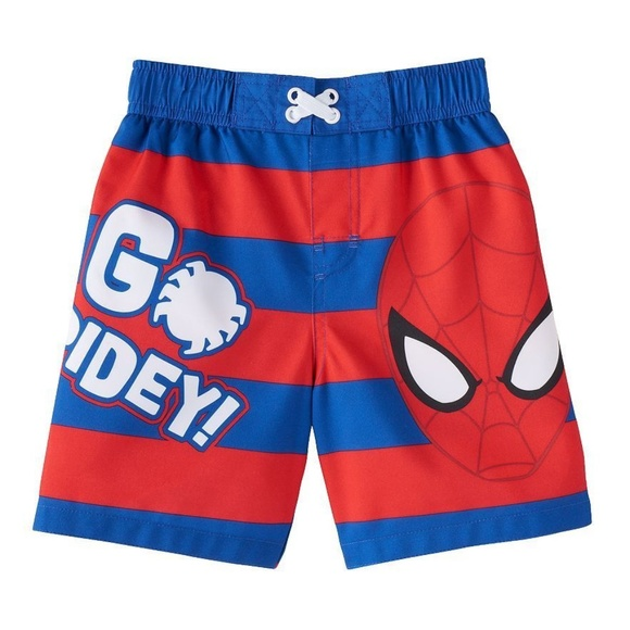 Spiderman Other - Baby Boy Spiderman Swim Trunks Size 12 Mo.